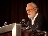 David Harvey na konferenci v Zagrebu